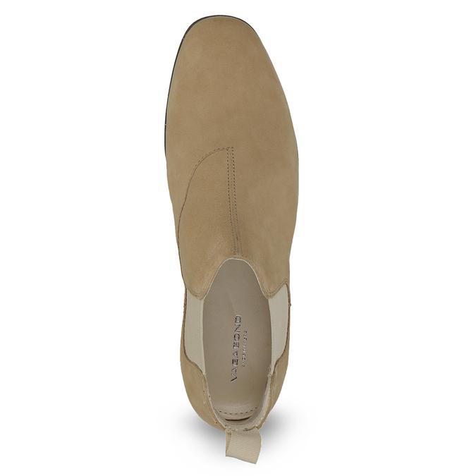 Kožené kotníčkové Chelsea Boots vagabond, hnědá, 513-4098 - 17