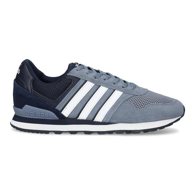 Pánské tenisky z broušené kůže adidas, modrá, 803-2293 - 19