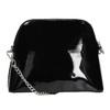 Lakovaná černá kabelka bata, černá, 961-6850 - 16