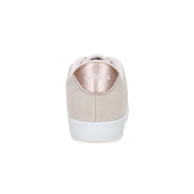 Růžové tenisky z broušené kůže adidas, růžová, 503-2554 - 15