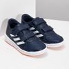 Modré dětské tenisky na suché zipy adidas, modrá, 301-9151 - 26