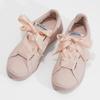 Růžové tenisky se saténovou mašlí pepe-jeans, růžová, 541-5076 - 16