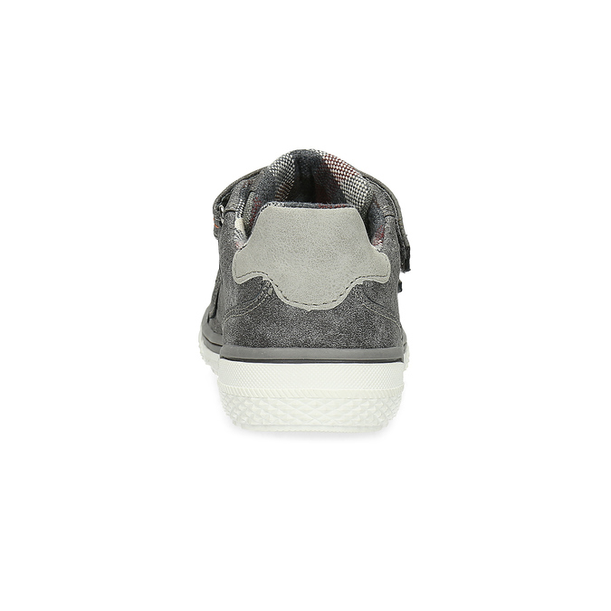 Dětské tenisky s perforací mini-b, šedá, 211-2625 - 15