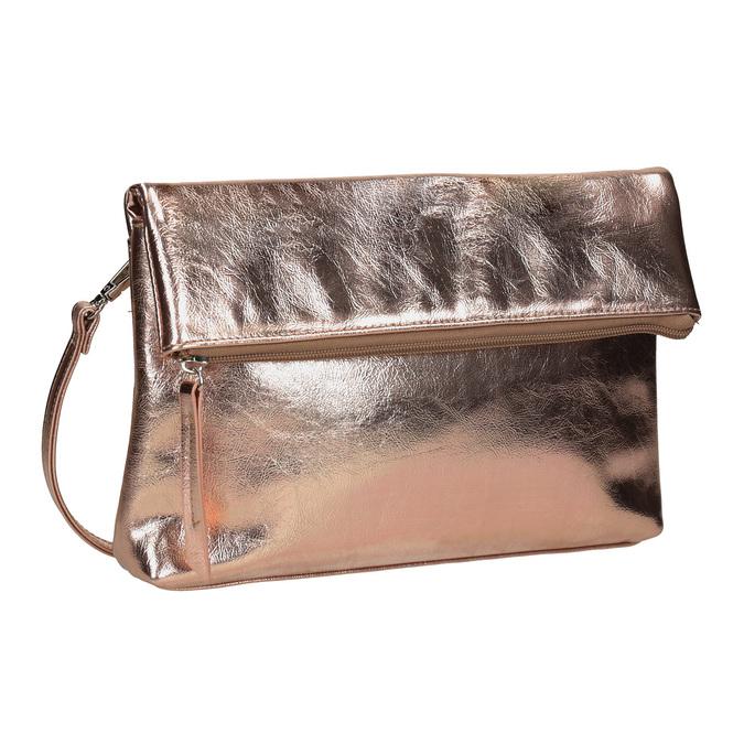 Zlatá Crossbody kabelka bata, modrá, 961-9852 - 13