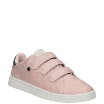 Růžové dámské ležérní tenisky north-star, růžová, 549-5604 - 13