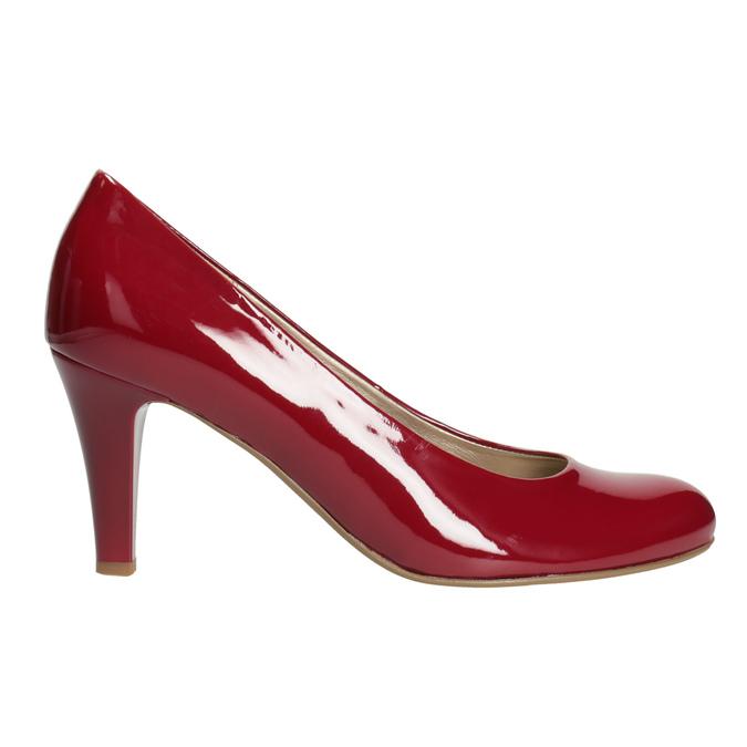 Červené dámské lodičky gabor, červená, 721-5064 - 26