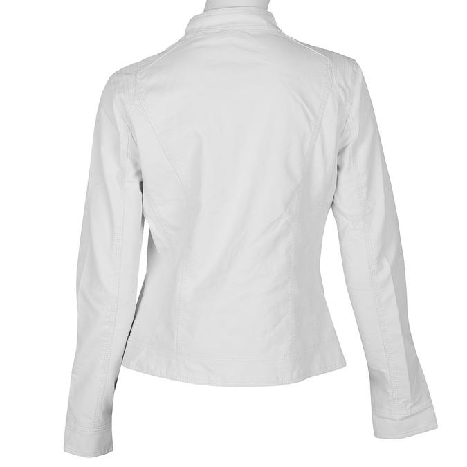 Dámská koženková bunda bílá bata, bílá, 971-1206 - 26