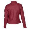 Koženková dámská bunda červená bata, červená, 971-5206 - 26