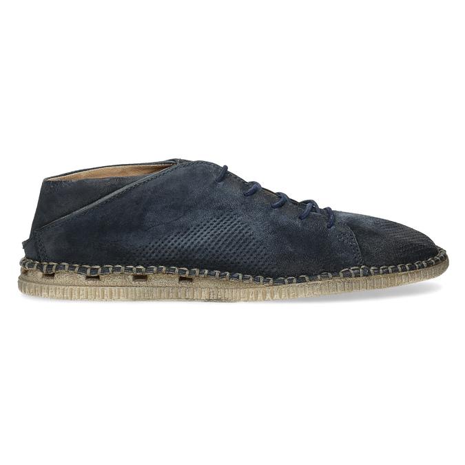 Kožené boty ve stylu Desert Boots modré a-s-98, modrá, 826-9002 - 19