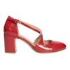 Lakované dámské lodičky insolia, červená, 721-5611 - 26