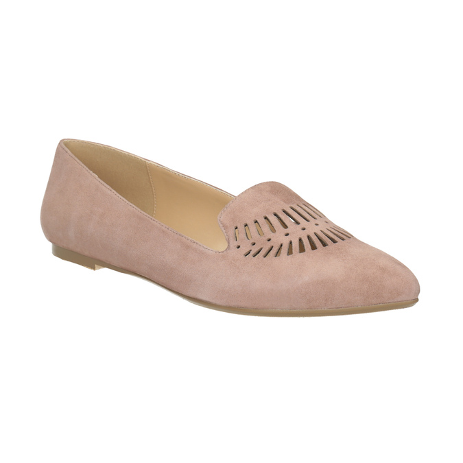 Dámská kožená Loafers obuv bata, 523-5659 - 13