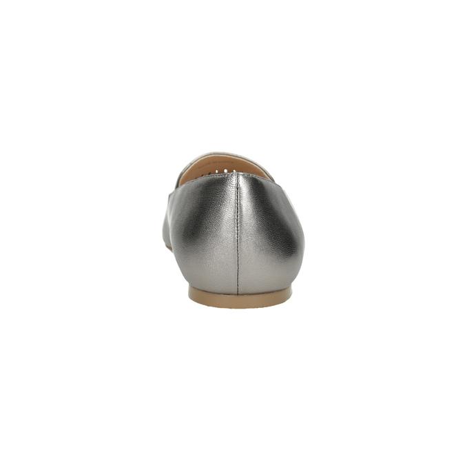 Dámská kožená obuv s perforací bata, 526-1659 - 15