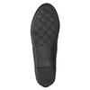 Černé dámské baleríny s mašličkou bata, černá, 521-6611 - 19