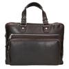 Pánská kožená taška na dokumenty bata, hnědá, 964-4287 - 26