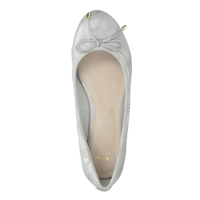 Stříbrné baleríny s mašlí bata, 521-1611 - 17