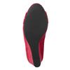 Červené lodičky na klínku insolia, červená, 729-5618 - 19