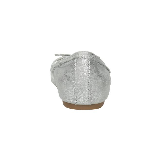 Stříbrné baleríny s mašlí bata, 521-1611 - 15