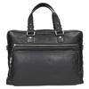 Kožená taška na dokumenty bata, černá, 964-6287 - 26