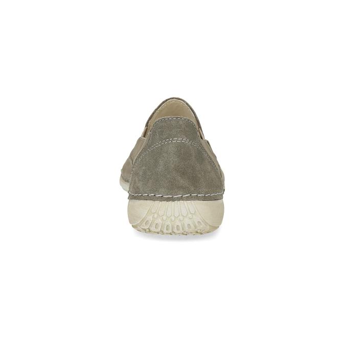 Kožené boty ve stylu Slip-on weinbrenner, béžová, 536-3606 - 15