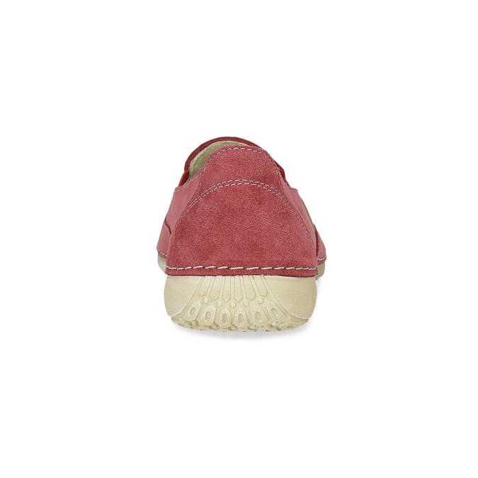 Červené dámské Slip-on weinbrenner, červená, 536-5606 - 15