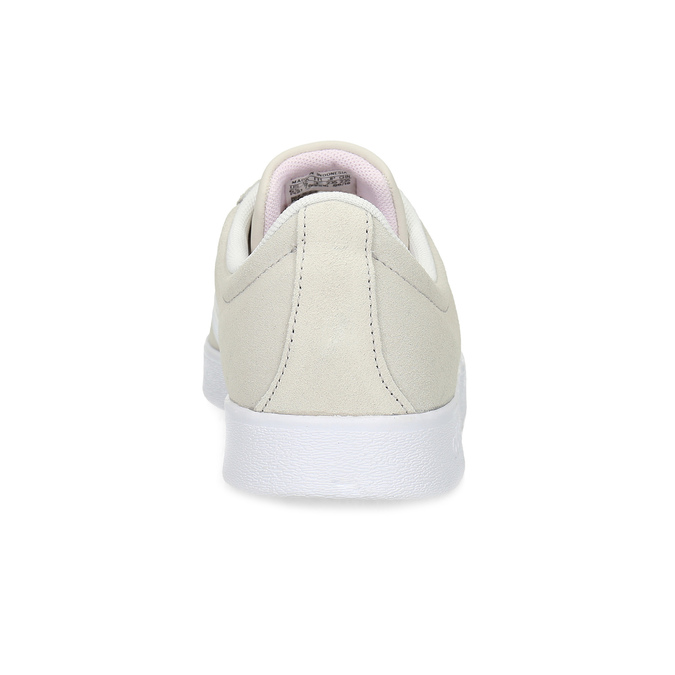 Béžové dámské kožené tenisky adidas, béžová, 503-8379 - 15