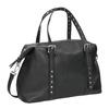 Černá kabelka s kovovými cvoky bata, černá, 961-6834 - 13