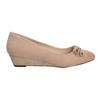 Lodičky na nízkém klínovém podpatku bata, béžová, 629-8633 - 16