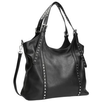 Černá kabelka s odnímatelným popruhem bata, černá, 961-6835 - 13