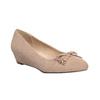 Lodičky na nízkém klínovém podpatku bata, béžová, 629-8633 - 13