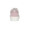 Kožené růžové tenisky s perličkami bata, růžová, 546-5606 - 16