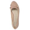 Lodičky na nízkém klínovém podpatku bata, béžová, 629-8633 - 17