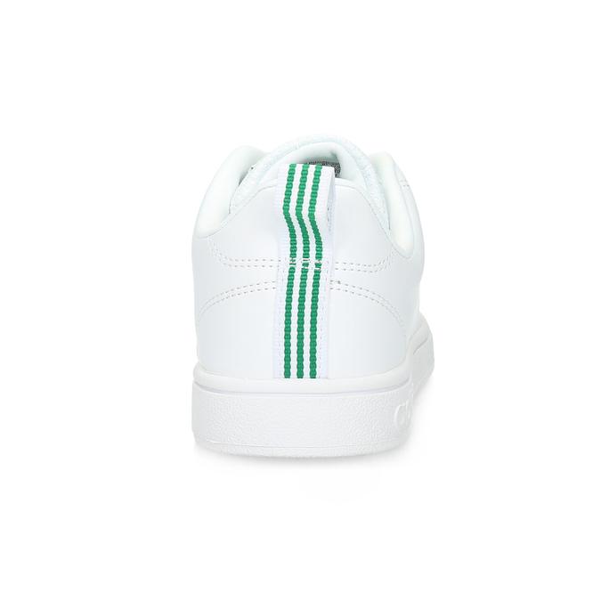 Bílé tenisky se zelenými detaily adidas, bílá, 501-1300 - 15