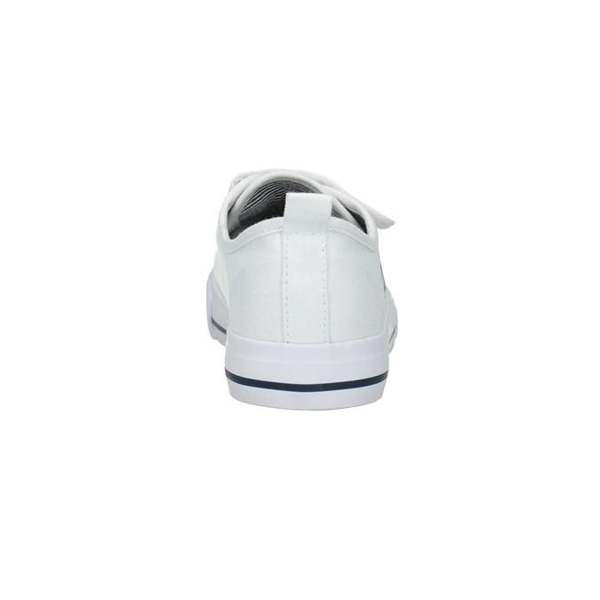 Dětské bílé tenisky klasického střihu bubblegummers, bílá, 219-1614 - 15