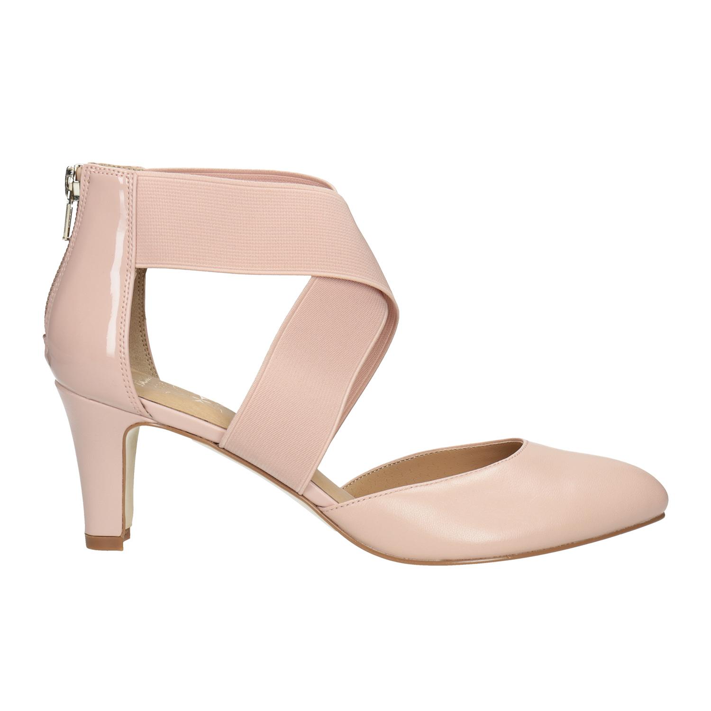 57e6a6f45b9 Insolia Tělové kožené lodičky - Všechny boty