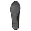 Dámské baleríny s mašlí bata, černá, 529-6637 - 17