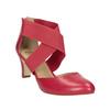 Červené kožené lodičky insolia, červená, 624-5643 - 13