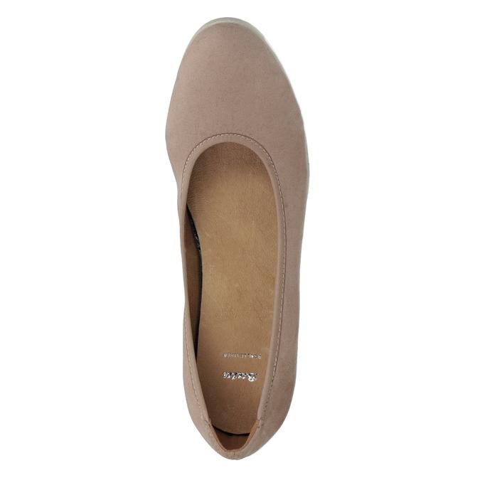 Lodičky na klínovém podpatku bata, 629-5636 - 17