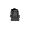 Pánské kožené sandály s prošitím comfit, černá, 856-6605 - 15