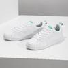 Bílé tenisky se zelenými detaily adidas, bílá, 501-1300 - 16