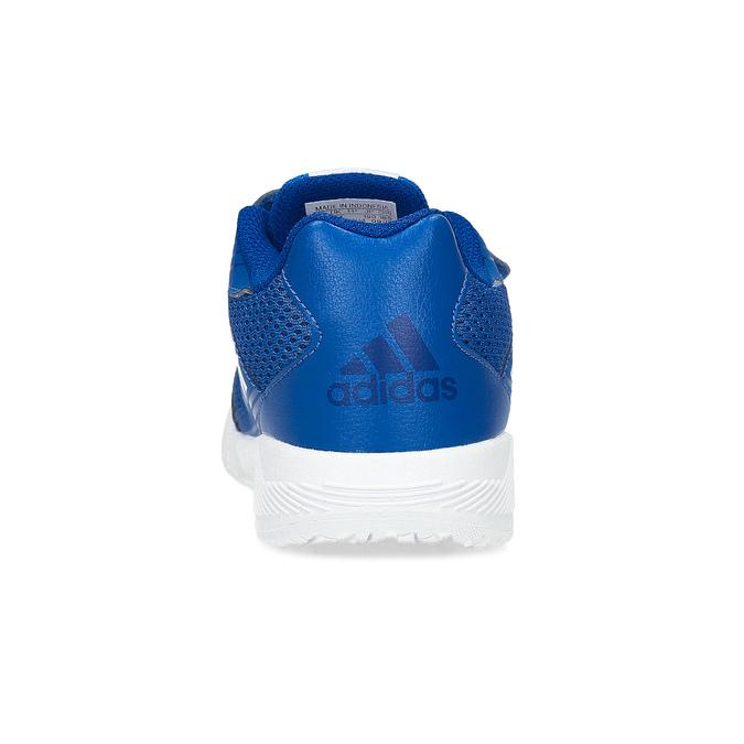 Modré dětské tenisky na suché zipy adidas, modrá, 309-9148 - 15
