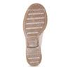 Dámská kotníčková obuv šněrovací ten-points, růžová, 526-5041 - 18