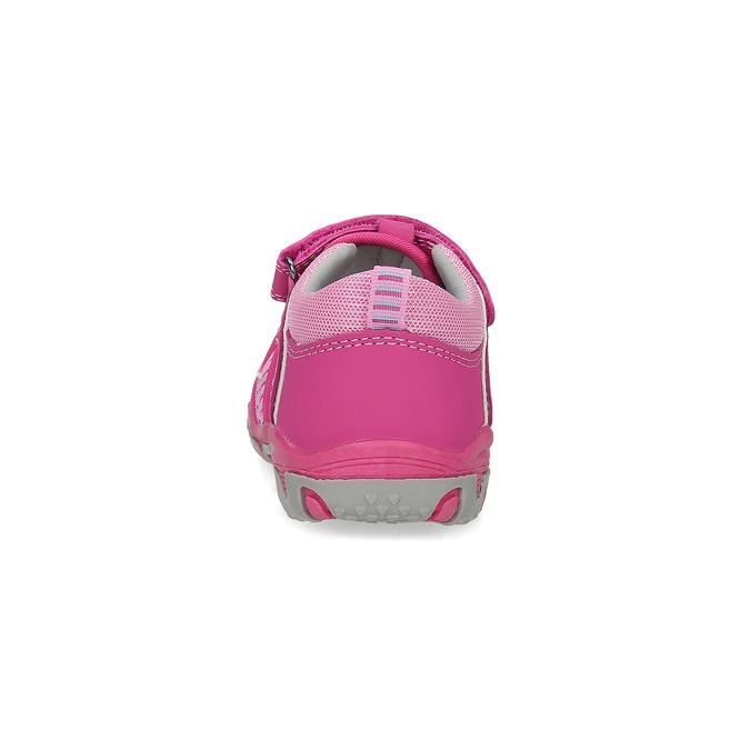 Růžové dětské sandály bubblegummers, 161-5609 - 15