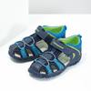Dětské sandály na suchý zip bubblegummers, modrá, 161-9609 - 16