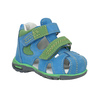 Dětské modré kožené sandály bubblegummers, modrá, 166-9602 - 13