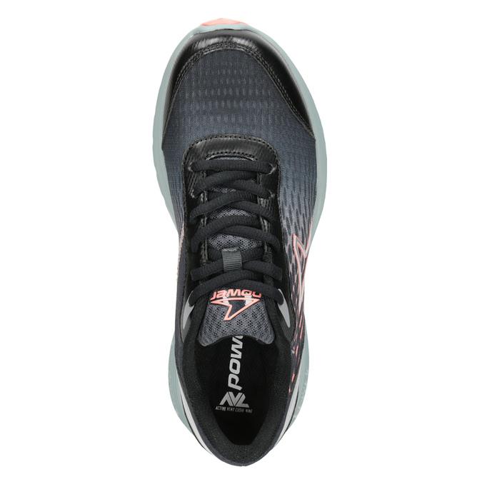 Dámské tenisky sportovního střihu power, černá, 509-6853 - 15