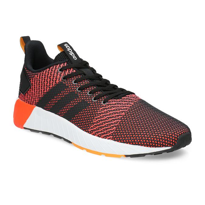 Oranžovo-černé pánské tenisky adidas, oranžová, 809-6479 - 13