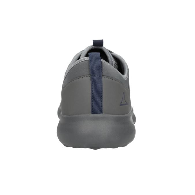 Pánské šedé tenisky ve sportovním stylu power, šedá, 809-2854 - 16