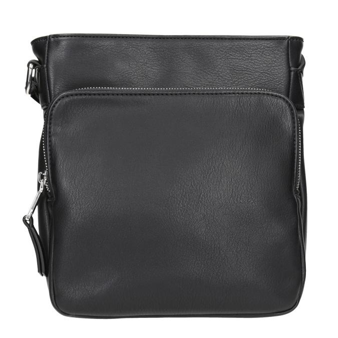 Pánská Crossbody taška s kapsou bata, černá, 961-6837 - 26