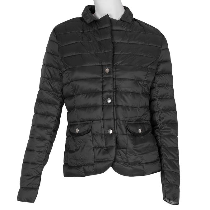 Černá dámská bunda s límečkem bata, černá, 979-6182 - 13