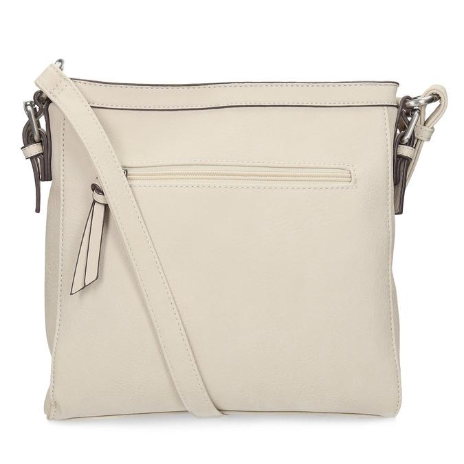 Crossbody kabelka s perforovaným vzorem gabor-bags, béžová, 961-8014 - 16